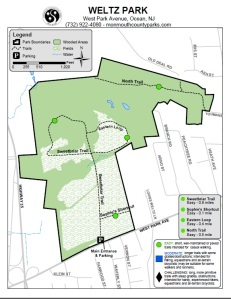 Map of Weltz Park